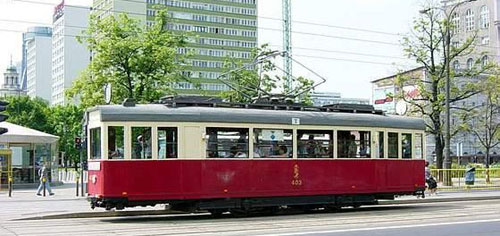 Old Tram as a tourist attraction