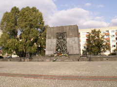 The Monument over the Ghetto Heroes